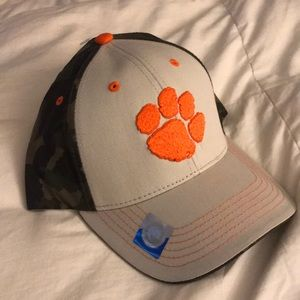 Other - Clemson grey and camo baseball hat